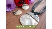 Exotic Seashells Pendant Motif Bali Design