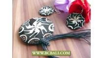 Mozaik Pendants Necklaces Sea Shells