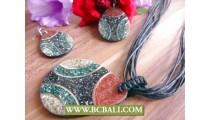Balinese Ocean Sand Shells Pendant