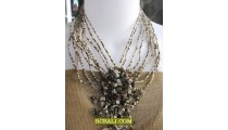 balinese handmade bead necklaces chokers stone