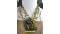 fashion necklaces chokers beads pendants stone