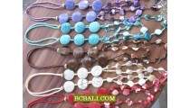 fashion necklaces long strand nuged shells new style