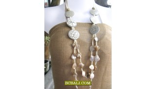 bali fashion necklaces accessories long seeds