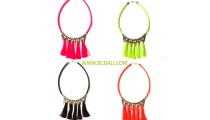 chokers necklaces roupe pendant color full fashion