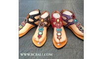 Bcbali Colection Sandals Leather Slippers