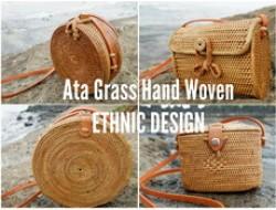 Ata Rattan Grass Handbag Bali