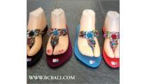 Bali Handmade Sandals Beads Slippers