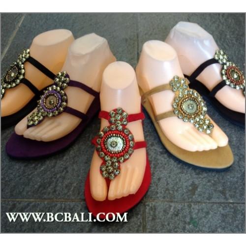 6e071b6ee21 Fringed Sandals Beaded Slipper - fringed sandals slippers beaded ...