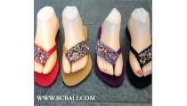 Slippers Sandal Beading Handmade