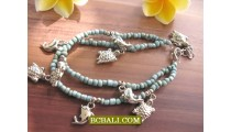 Bali Beads Anklet Charms Fashion Accessories