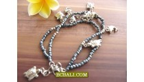 Balinese Fashion Anklet Beads Charms