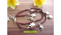 Beads Charm Fashion Anklet Made Bali