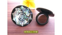Abalone Seashells Rings Hand Crafted Accessories Bali