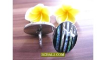 Black Shells Abalone Finger Rings Accessories Fashion