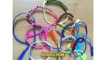 bali roupe hemp beaded bracelets Handmade