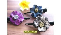 bali leather hair accessories kids women fashion
