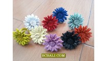 leather flowers finger rings bali wholesale free shipping