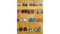 Stainless Earrings with Seashells Wholesale Package