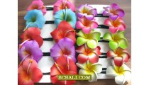 Hair Clip Accessories Fashion Tropical Flowers
