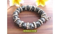 Beaded Stone Bracelets Stretch Handmade Accessories
