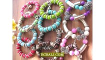 Beads Stone Bracelets Stretch Charms Package