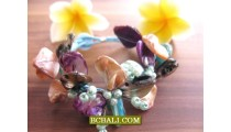 Balinese Seashells Beads Bracelets Fashion Handmade