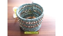 Bali Silver Beading Cuff Bracelets New Designs