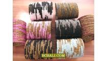 Beads Bracelets Cuff Motif Fashion Accessories