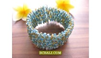 Ethnic Style Beaded Cuff Bracelets Fashion Accessories