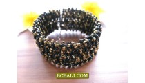 Creative Fashion Beaded Cuff Bracelets Designs