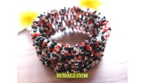 Designs Fashion Beaded Bracelets Bali Cuff Link