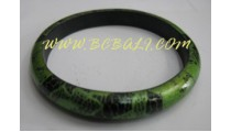 Wooden Bangles Hand Painting